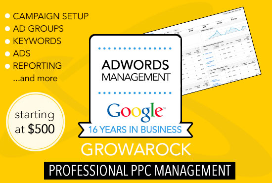 Google Adwords Certified Management